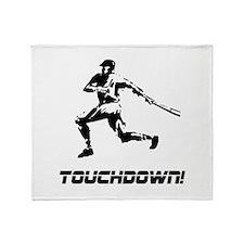 Baseball Touchdown Throw Blanket