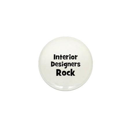 INTERIOR DESIGNERS Rock Mini Button