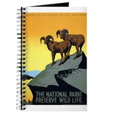 National Parks: Preserve Wild Life Journal