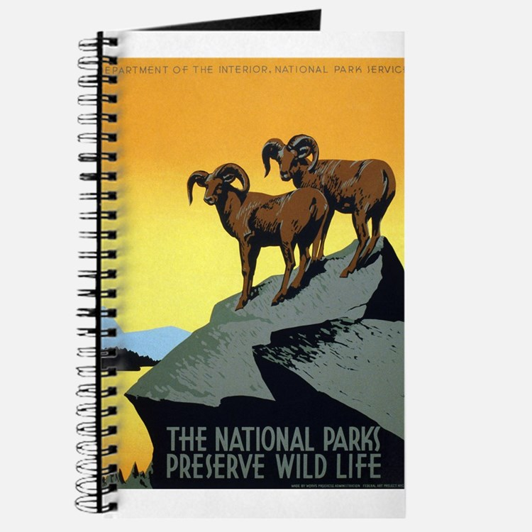 National Parks: Preserve Wild Life Journal