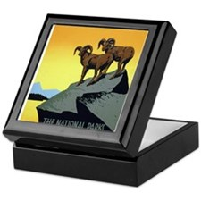 National Parks: Preserve Wild Life Keepsake Box
