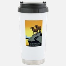 National Parks: Preserve Wild Life Stainless Steel