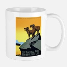 National Parks: Preserve Wild Life Mug