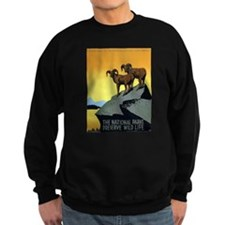 National Parks: Preserve Wild Life Sweatshirt