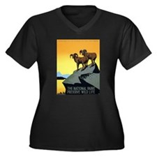 National Parks: Preserve Wild Life Women's Plus Si