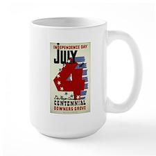 Vintage Fourth of July Mug