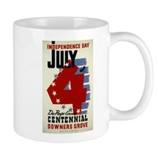 Vintage Fourth of July Mug