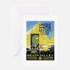 Death Valley: Vintage Parks Greeting Card