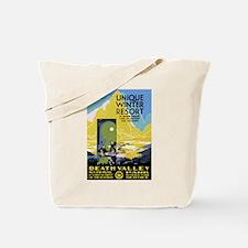 Death Valley: Vintage Parks Tote Bag