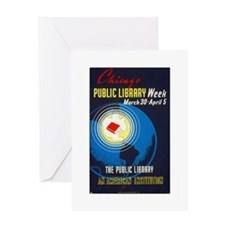 Public Library: An American Institution Greeting C