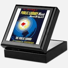 Public Library: An American Institution Keepsake B