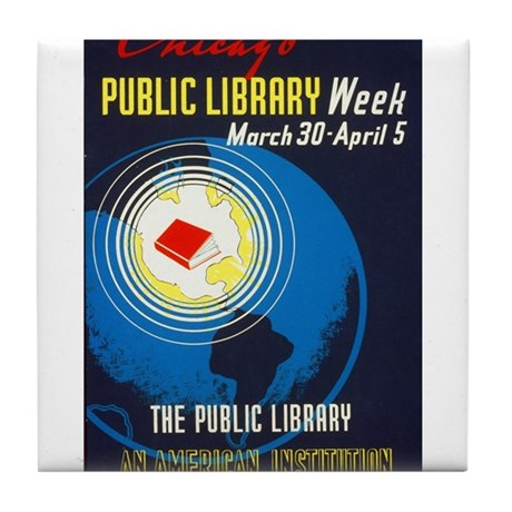 Public Library: An American Institution Tile Coast