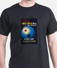 Public Library: An American Institution T-Shirt