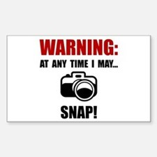 Camera Snap Decal