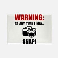 Camera Snap Rectangle Magnet (10 pack)