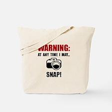 Camera Snap Tote Bag