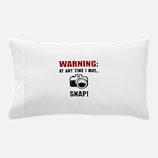 Camera Snap Pillow Case