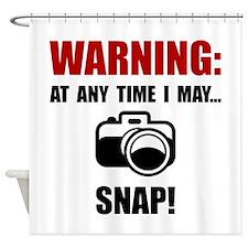 Camera Snap Shower Curtain