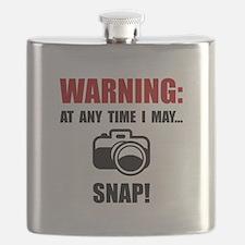 Camera Snap Flask