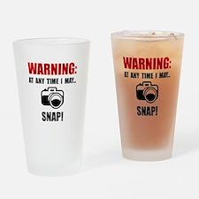 Camera Snap Drinking Glass