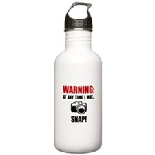 Camera Snap Water Bottle