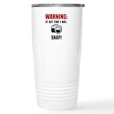 Camera Snap Travel Mug