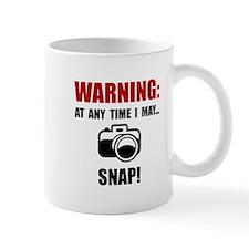 Camera Snap Small Mug
