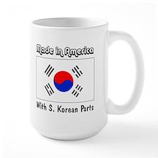 S. Korean Parts Mug