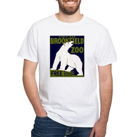 Vintage Visit the Zoo White T-Shirt