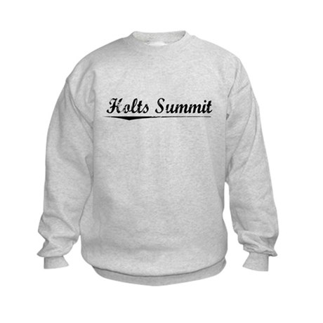 Holts Summit, Vintage Kids Sweatshirt