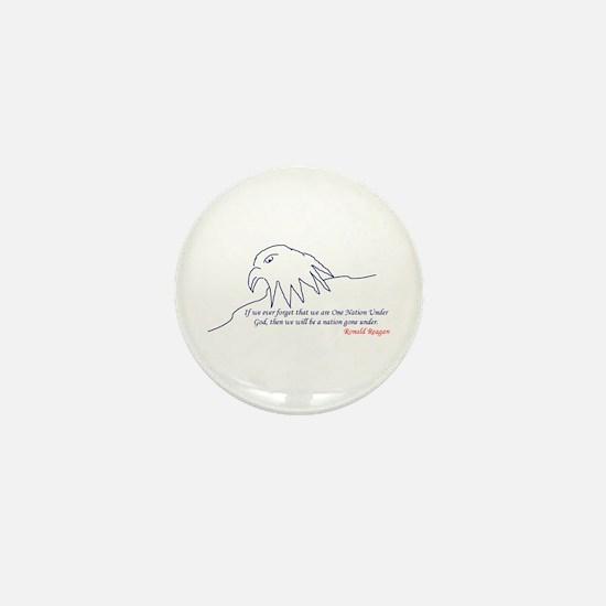 Eagle Mini Button