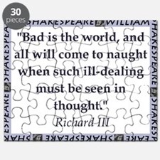 Bad Is The World Puzzle