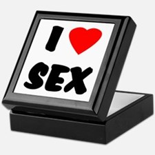 I Love Sex Keepsake Box