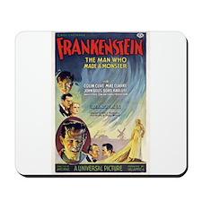 Vintage Frankenstein Horror Movie Mousepad