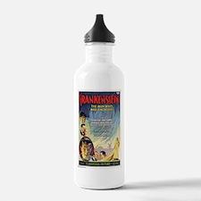 Vintage Frankenstein Horror Movie Water Bottle
