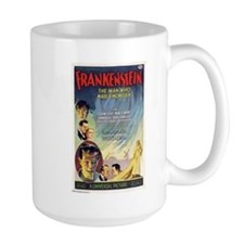 Vintage Frankenstein Horror Movie Mug