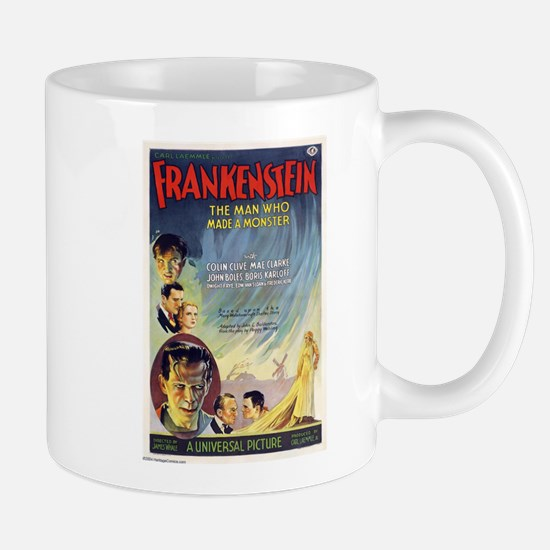 Vintage Frankenstein Horror Movie Mug