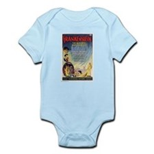Vintage Frankenstein Horror Movie Infant Bodysuit