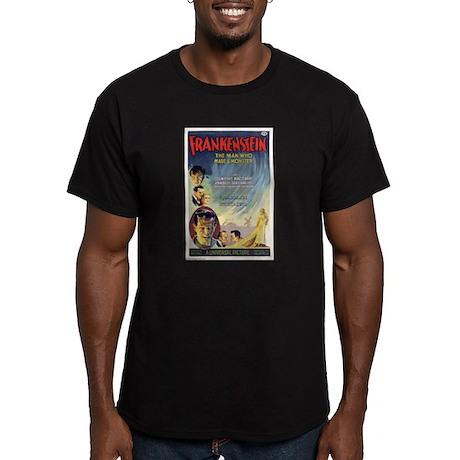 Vintage Frankenstein Horror Movie Men's Fitted T-S