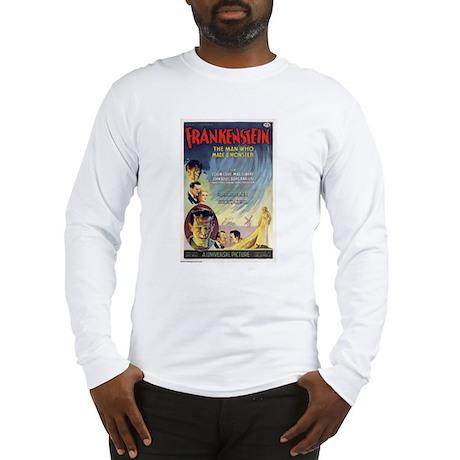 Vintage Frankenstein Horror Movie Long Sleeve T-Sh