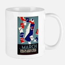 Vintage March is for Reading Mug