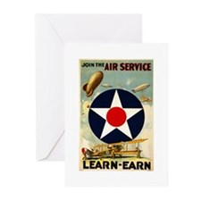 WWII Join the Air Service/Air Force Greeting Cards
