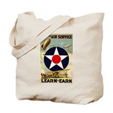 WWII Join the Air Service/Air Force Tote Bag