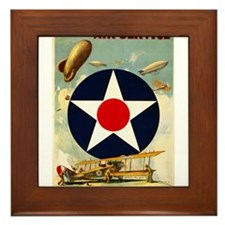 WWII Join the Air Service/Air Force Framed Tile