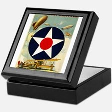 WWII Join the Air Service/Air Force Keepsake Box