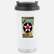 WWII Join the Air Service/Air Force Travel Mug