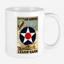 WWII Join the Air Service/Air Force Mug