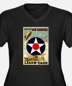 WWII Join the Air Service/Air Force Women's Plus S