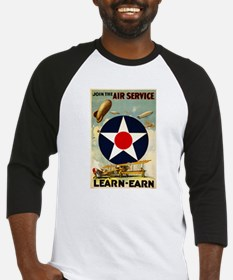 WWII Join the Air Service/Air Force Baseball Jerse