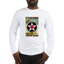 WWII Join the Air Service/Air Force Long Sleeve T-
